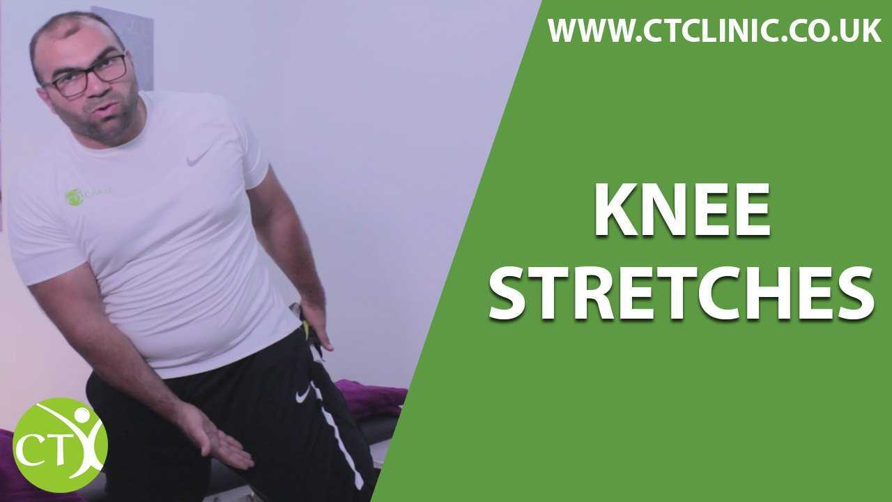 Knee Stretches CT Clinic