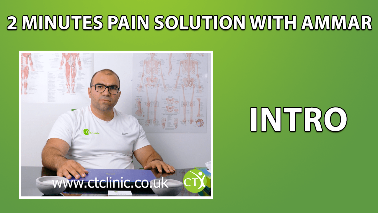 CT Clinic 2 minute pain solution
