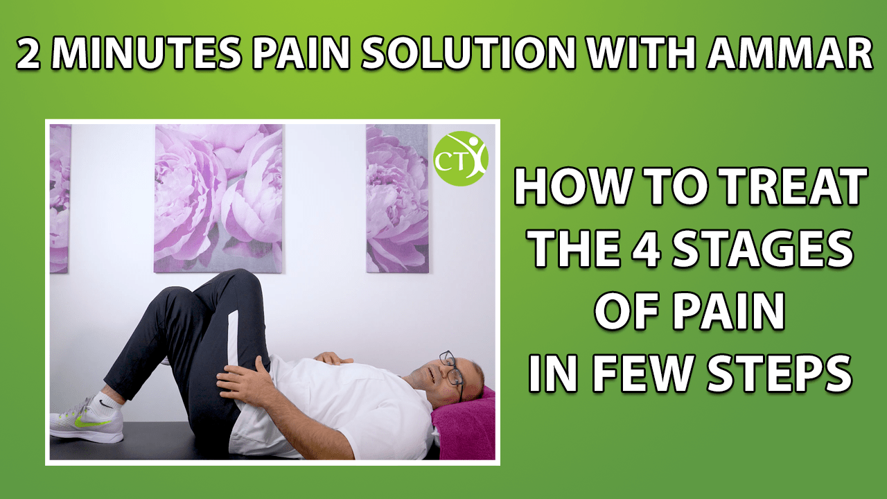 Sitting down on sofa – 2 Minutes Pain With Ammar