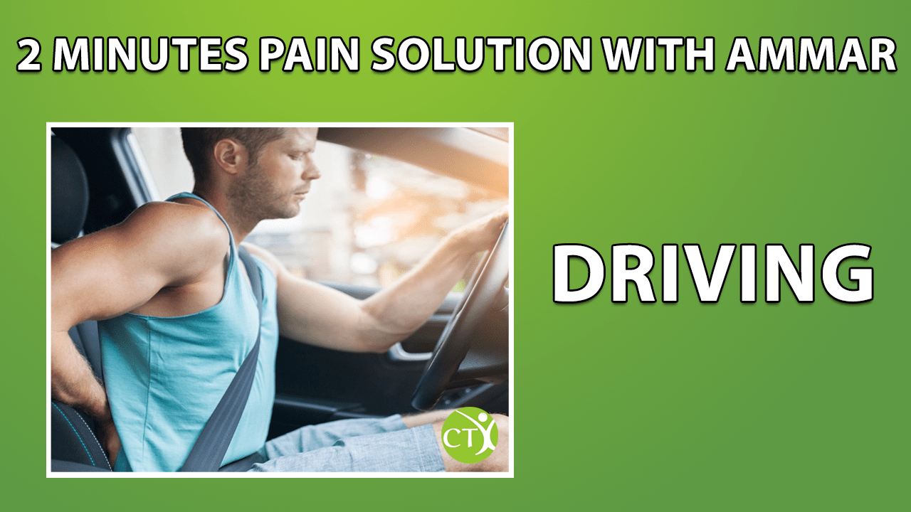 2 minute pain solution - driving
