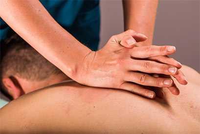 Effective pain treatment - deep tissue massage