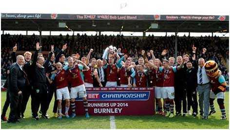 Burnley FC championship